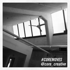 #CoreMoves, Architecture, Office Space, Black and White Photo