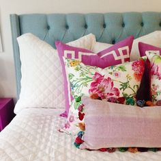 Caitlin Wilson Berry Deco Pillows | Room styled by House of Jade Interiors