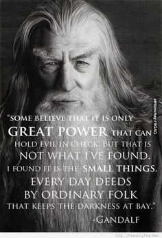 Gandalf the wise! - http://feedingthe.net/gandalf-the-wise/
