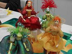 Отчёт о проведённом Новогоднем МК по куколке-шарнирочке на ёлку | Ярмарка Мастеров - ручная работа, handmade