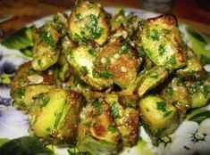 This dish of zucchini deserves a 5 : tastier meat / Amazing Cooking Vegetable Dishes, Vegetable Recipes, Vegetarian Recipes, Chicken Recipes, Cooking Recipes, Healthy Recipes, Russian Recipes, Tasty Dishes, Food Photo