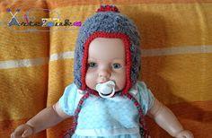 Artelouka artesanato: Gorro infantil - Refª 1012
