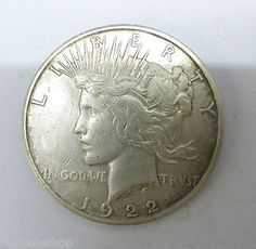 1922 united #states #silver liberty peace #dollar coin,  View more on the LINK: http://www.zeppy.io/product/gb/2/171458105122/