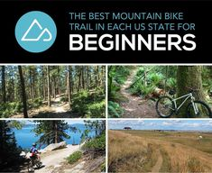 The Best Mountain Bike Trail in Each US State for Beginners http://www.singletracks.com/blog/mtb-trails/the-best-mountain-bike-trail-in-each-us-state-for-beginners/ #cyclingforbeginners #MountainBikesOnline