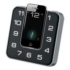 Clock Radio Plays and Charges Your iPhone   DesignRulz.com