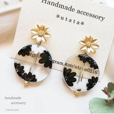 Diy Resin Earrings, Polymer Clay Jewelry, Resin Jewelry, Diy Jewelry, Handmade Jewelry, Jewelry Making, Jewellery, Diy Resin Crafts, Jewelry Packaging