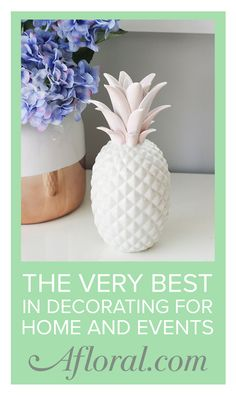 Decorate your home and events with Afloral.com.  Find unique home accents and affordable decorations for every style.