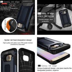 #novedades #moviles #smartphone #Samsung #SamsungS6 Carcasas y fundas protectoras para moviles y Smartphone Samsung S6 Edge.