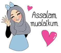 Miss Dua Hijabi cutie girl Eng.Version by Patcharin Mangsuree Love Cartoon Couple, Cute Cartoon Pictures, Cute Love Cartoons, Cute Love Memes, Muslim Greeting, Ramadan Poster, Cartoon Jokes, Teacher Cartoon, Moslem