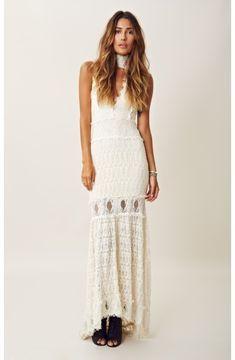 nightcap FLORENCE LACE BRIDAL DRESS on shopstyle.com