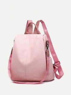 0bc9b7337e7b Vinfemass Sewing Thread Embossing Geometry Backpack  vinfemass  backpacks   fashion  women  school