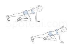 Mountain climbers are a dynamic, compound exercise, that works several muscles simultaneously and in a constant movement. This full body exercise has the added bonus of raising your heart rate and boosting your metabolism. Adding mountain climbers to your workout routine can also help increase aerobic fitness, flexibility and agility. http://www.spotebi.com/exercise-guide/mountain-climbers/