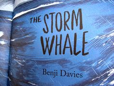The Storm Whale – Knitted Whale | BENJI DAVIES