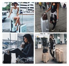 """Travel outfit"" by perfectharry ❤ liked on Polyvore"