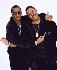 Mase and diddy Love N Hip Hop, Hip Hop And R&b, 90s Hip Hop, Hip Hop Rap, Hip Hop Fashion, 90s Fashion, Bad Boy Entertainment, Puff Daddy, Hip Hop Artists