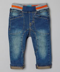 Another great find on #zulily! Denim Jeans - Toddler & Boys by Me Too #zulilyfinds