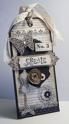 Beautiful Tag found at Carterie artisanale