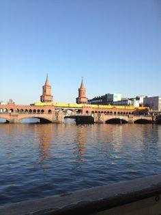 City Train Station in Berlin Train Station, Taj Mahal, Berlin, Louvre, Europe, City, Building, Travel, Viajes