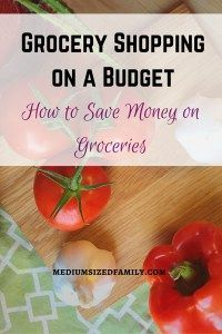 Grocery shopping on a budget- how to save money on groceries. If you're looking for extra tips for saving your grocery budget, you'll find them here.