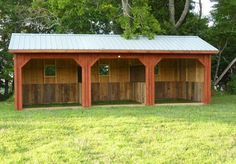 Horse Run Ins and Sheds | Portable Horse Barn Manufacturer Hilltop ...