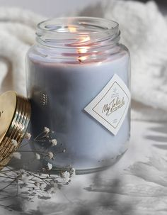 Image Bougie, Photo Deco, Photo Candles, Smell Good, Candle Jars, Chill, Bedroom Decor, Mood, Winter