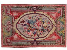 Antique Turkish Gördes Rug - 4′ × 6′1″ on Chairish.com