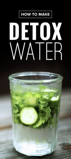 4 Detox Ingredients You Need to Add to Your H2O