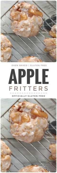 Baked Apple Fritters Gluten Free Gluten Free Baked Apple Fritters Fritter Related Post The ultimate brownies Chocolate Raspberry Trifle Recipe: Layers of choco. Ghosts in the Graveyard Dessert Shooters – I. Gf Recipes, Apple Recipes, Gluten Free Recipes, Cooking Recipes, Recipies, Gluten Free Breads, Gluten Free Scones, Gluten Free Breakfasts, Gluten Free Rolls