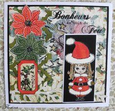Noël, comment faire plaisir, des cartes de Noël - tampons la compagnie des elfes Graphic 45, Tampons, Creations, Scrapbooking, Blog, Elves, Cards, Blogging, Scrapbooks