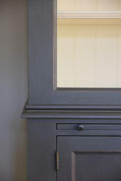 Landelijke Bibliotheekkast met Ladder - Inndoors Meubelen en Interieur