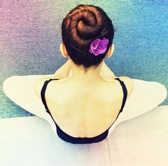 Ballet bun. Miko Fogarty
