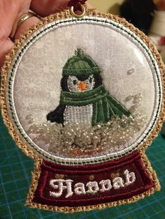 Instant Download In-the-hoop 3D SNOWMAN SNOW by lannahdesigns