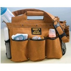 Builder Daddy Diaper Bag - AWESOME! What a great father's day gift idea for a new dad.
