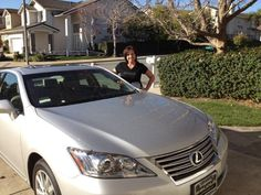 Congrats on earning your Lexus with Nerium, Lisa!