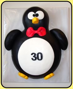 Penguin cake — Birthday Cake Photos