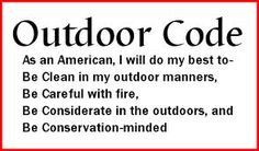 The Outdoor Code - Boy Scouts of America Lion Cub Scouts - Lion Adventures - Mountain Lion Quick overview. Leave only Footprints, Take only pictures Boy Scout Oath, Cub Scouts Wolf, Tiger Scouts, Boy Scout Troop, Scout Mom, Scout Leader, Eagle Scout, Girl Scouts, Lion Cub