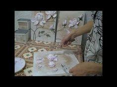 Видео мастер-класс по работе с декоративной штукатуркой: выкладываем  мастихином цветки магнолии - Ярмарка Мастеров - ручная работа, handmade