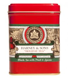 Holiday Tea from Harney&Sons.  Awesome for Winter Solstice festiving, spices are not overpowering.