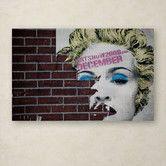 "Found it at Wayfair - Yale Gurney ""Madonna Pop"" Canvas Art"