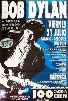 28 -07 21 1995 - Bob Dylan Concert Poster