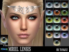 PACKAGE  Found in TSR Category 'Sims 4 Eye Colors'