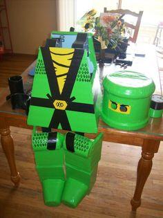Lego Ninjago Green Ninja Costume | eBay