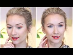Summer Makeup Look, Matte Makeup Tutorial, Matte Coral Makeup, Stila Stay All Day Liquid Lipstick