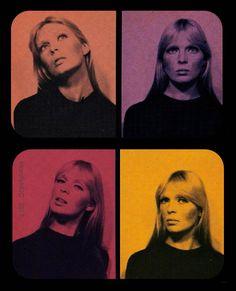 The Groovy — Nico, Chelsea Girls, 1966 Mode Queer, Photo D Art, Insta Photo Ideas, Jolie Photo, Retro Futurism, Film Photography, Aesthetic Pictures, Art Inspo, Pop Art