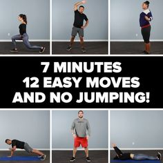 12 Easy No-Jumping Workout Moves