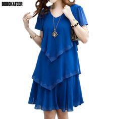 vestidos veraniegos largos - Búsqueda de Google Plus Size Womens Clothing, Plus Size Outfits, Clothes For Women, Size Clothing, Clothes Sale, Trendy Outfits, Fashion Outfits, Womens Fashion, Blue Dresses