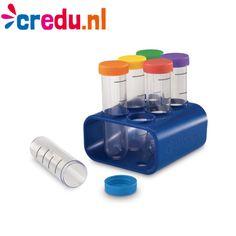 Reageerbuisjes in houder - https://www.credu.nl/product/reageerbuisjes-in-houder/