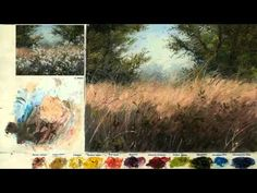 ▶ Oil painting for landscape - YouTube