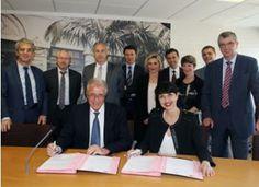 12/06/14.LANGUEDOC-ROUSSILLON. La Caisse d'Epargne Languedoc-Roussillon signe une convention de partenariat avec l'ARESAT LR*. LIRE http://www.histoiresordinaires.fr/