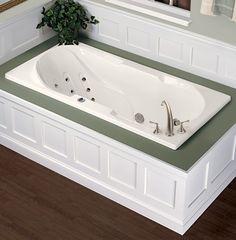 drop in bathtub alcove